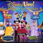 O incrível show Disney Live! O Caminho Mágico de Mickey e Minnie
