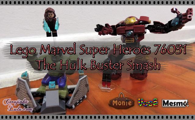 Lego Marvel Super Heroes 76031 the avengers os vingadores - The Hulk Buster Smash hulkbuster iron man homem de ferro ultron prime viúva negra scarlet witch | ©CorujinhaLulu.com
