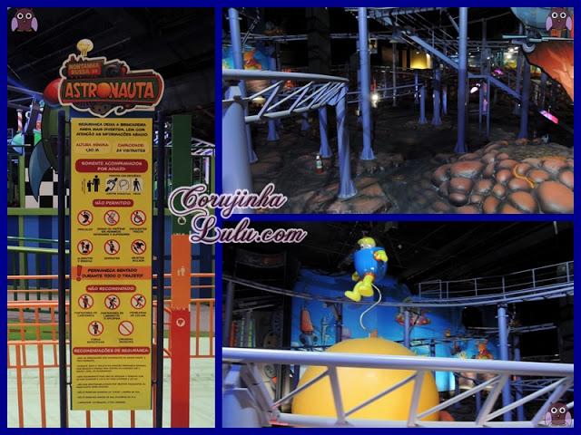 Novo Parque da Mônica no Shopping SP Market Monica's Gang Theme Park cebolinha cascão magali chico bento rosinha franjinha louco turma da mônica montanha russa do astronauta  | ©CorujinhaLulu.com