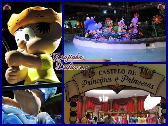 Novo Parque da Mônica no Shopping SP Market Monica's Gang Theme Park cebolinha cascão magali chico bento rosinha franjinha louco turma da mônica  | ©CorujinhaLulu.com