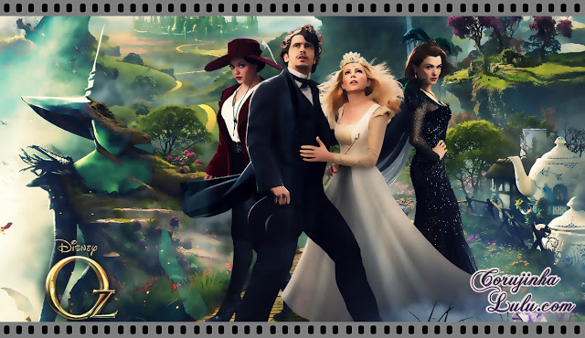 """Oz: Mágico e Poderoso"" - Resenha de Cinema filme 2013 mágico de oz the great and powerful disney studios movie"