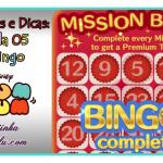 Mais novidades e Dicas para a Cartela 5 – Missão Bingo do Tsum Tsum