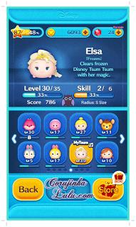 Gameplay do jogo tsum tsum dinsey app dicas truques elsa cartelas bingo game mission bingo missão line
