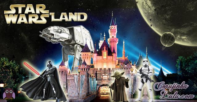 Disney anuncia dois Parques Temáticos da Saga Star Wars land parque de diversão