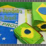 Bolo Bandeira do Brasil – De Bico Cheio