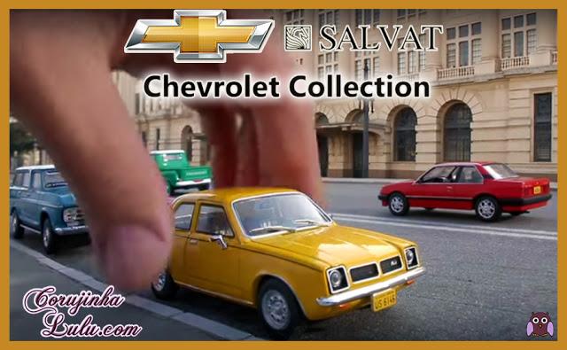 Chevrolet Collection da Editora Salvat agora em todo o Brasil nacional carrinho em miniatura carrinhos carro metal miniaturas nacionais coleção colecionadores coleções colecionador