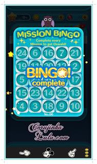 Dicas para a Cartela 6 do Mission Bingo Tsum Tsum disney oswald rabbit lucky missão tarefas truques line | ©CorujinhaLulu.com