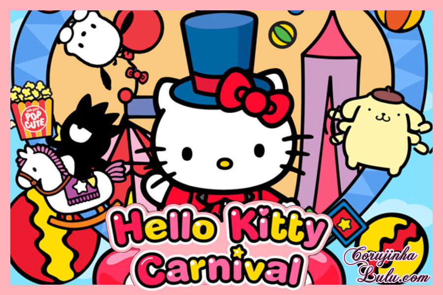 app hello kitty carnival mobile game jogo celular smartphone android ios iphone sanrio