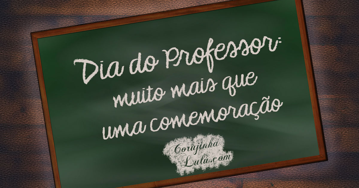 dia do professor corujinhalulu