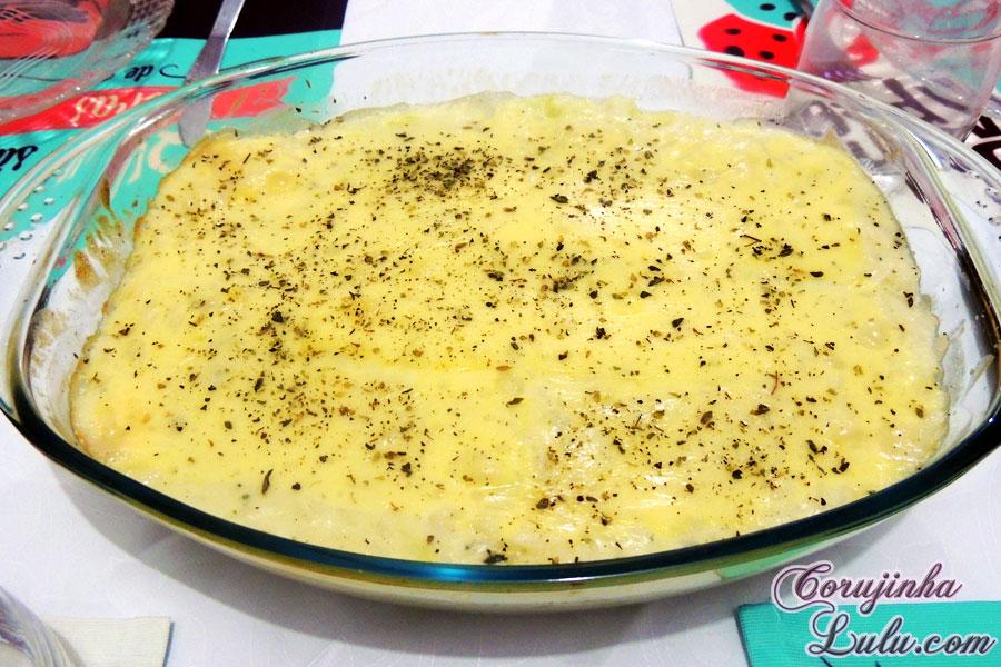 arroz de forno molho de queijo receita de bico cheio #debicocheio corujinhalulu | ©CorujinhaLulu.com