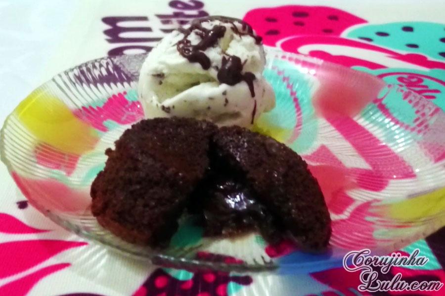 sobremesa petit gateau sorvete receita de bico cheio #debicocheio corujinhalulu | ©CorujinhaLulu.com
