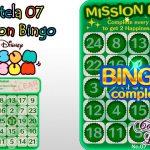 Dicas para completar a Cartela 7 do Mission Bingo Tsum Tsum