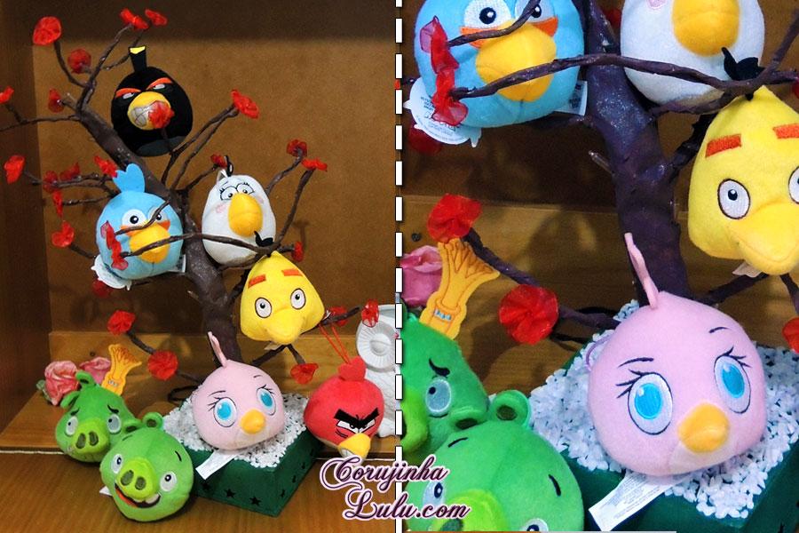 diy faça você mesmo desafio meliuz 3 árvore pisca pisca led decoração angry birds mc donalds donald's corujinhalulu ©Corujinha Lulu.com