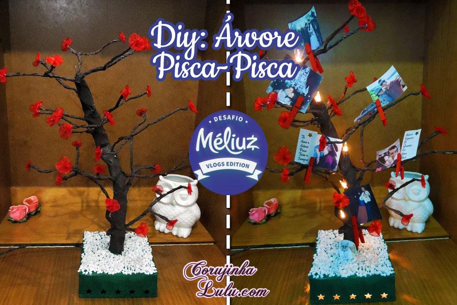 diy faça você mesmo desafio meliuz 3 árvore cerejeira pisca pisca led imaginarium presente especial corujinhalulu | ©Corujinha Lulu.com