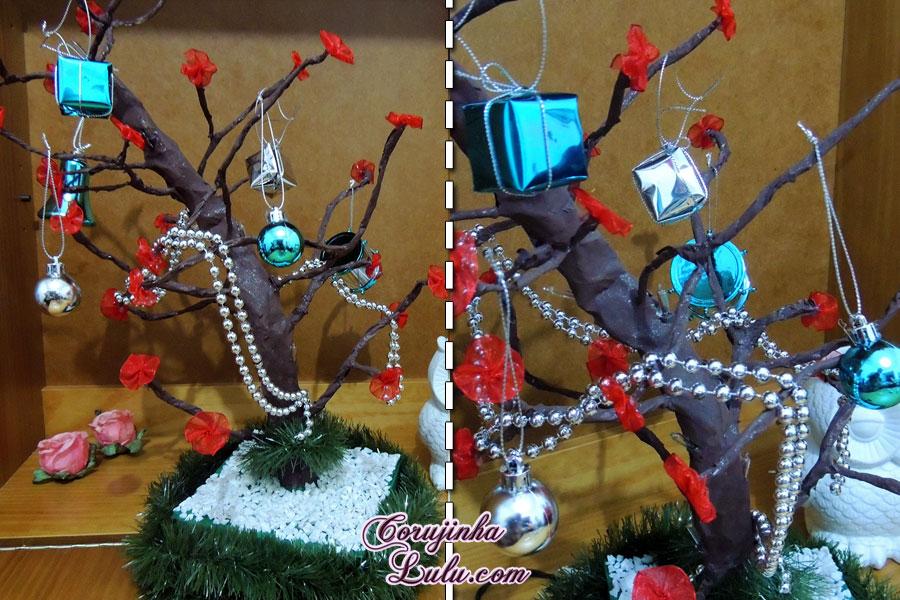 diy faça você mesmo desafio meliuz 3 árvore de natal pisca pisca led decoração festas corujinhalulu ©Corujinha Lulu.com