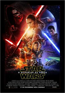 poster br brasil brazil star wars o despertar da força the force awakens 2015 lucasfilm disney episódio 7 VII episode