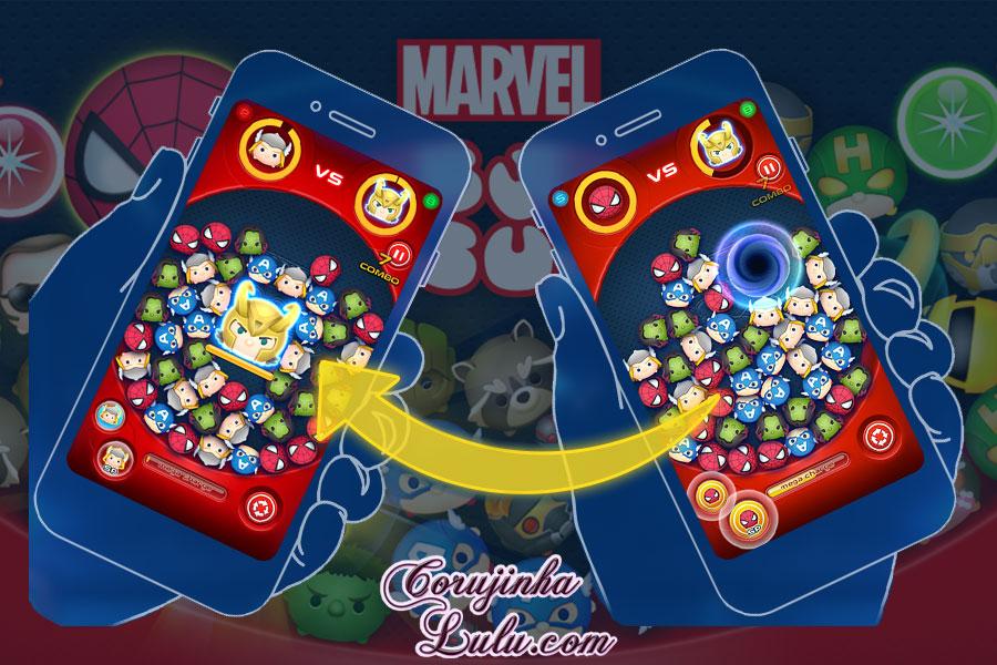 marvel tsum tsum disney app jogo game novidades batalha battle multiplayer corujinhalulu