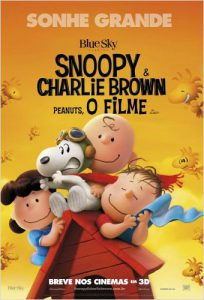 snoopy charlie brown peanuts filme movie poster brasil brazil br fox film blue sky studios