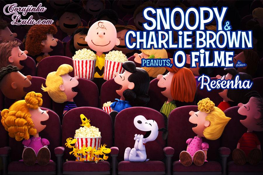 snoopy e charlie brown peanuts o filme minduim 2015 resenha critica analise filme cinema charles schulz fox film blue sky studios movie