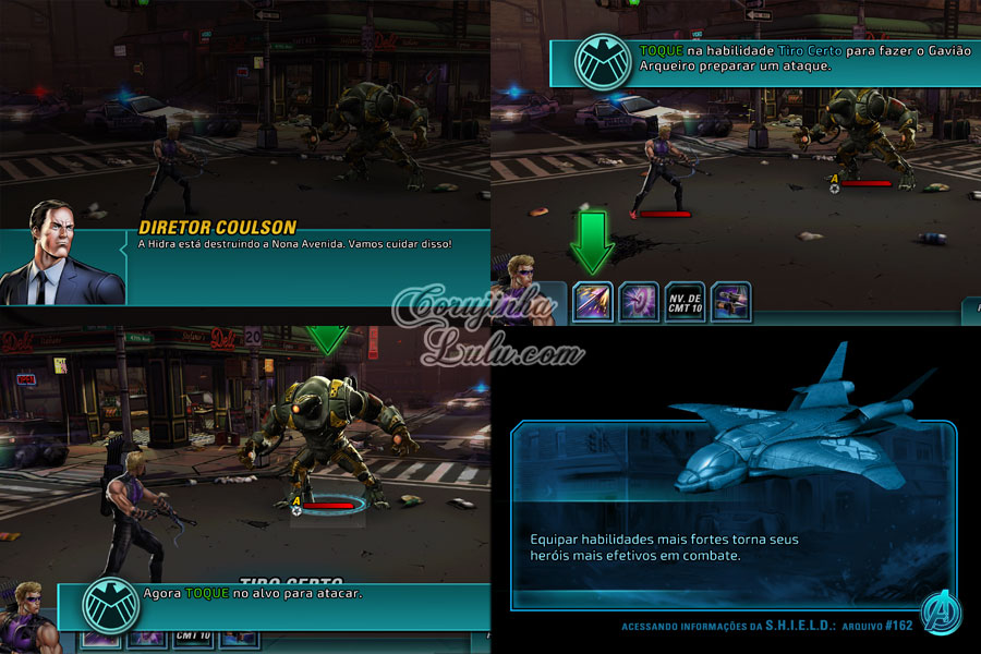 gameplay disney Marvel: Avengers Alliance 2 marvel os vingadores app aplicativo game jogo celular tablet iphone ipad móvel corujinhalulu corujinha lulu