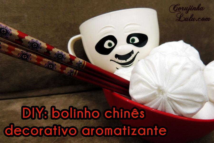 Diy Como fazer Bolinhos Chineses decorativos e aromatizantes bolinho chinês kung fu panda po pastel chinês decoração aroma patuá sais de banhoCorujices da Lu #CorujicesDaLu ©CorujinhaLulu.com