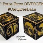 Diy: Como fazer porta-treco estampado da Série Divergente | Corujices da Lu