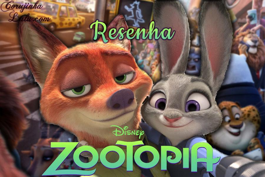 Filme: Zootopia: Essa Cidade é o Bicho (2016) - Resenha de Cinema disney movie judy nick raposa colelha