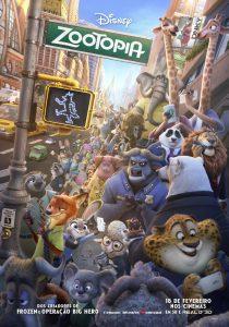 poster nacional br brasil brazil Filme Zootopia Essa Cidade é o Bicho (2016) - Resenha de Cinema
