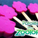 Receita: Patolés de gelatina de Zootopia | De Bico Cheio