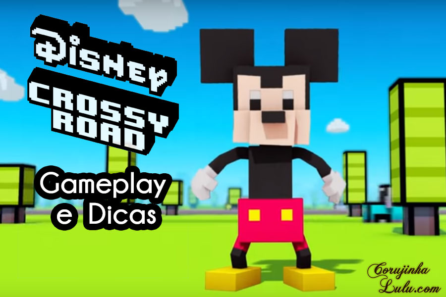 disney crossy road jogo game gameplay dicas truques app hipster whale corujinhalulu
