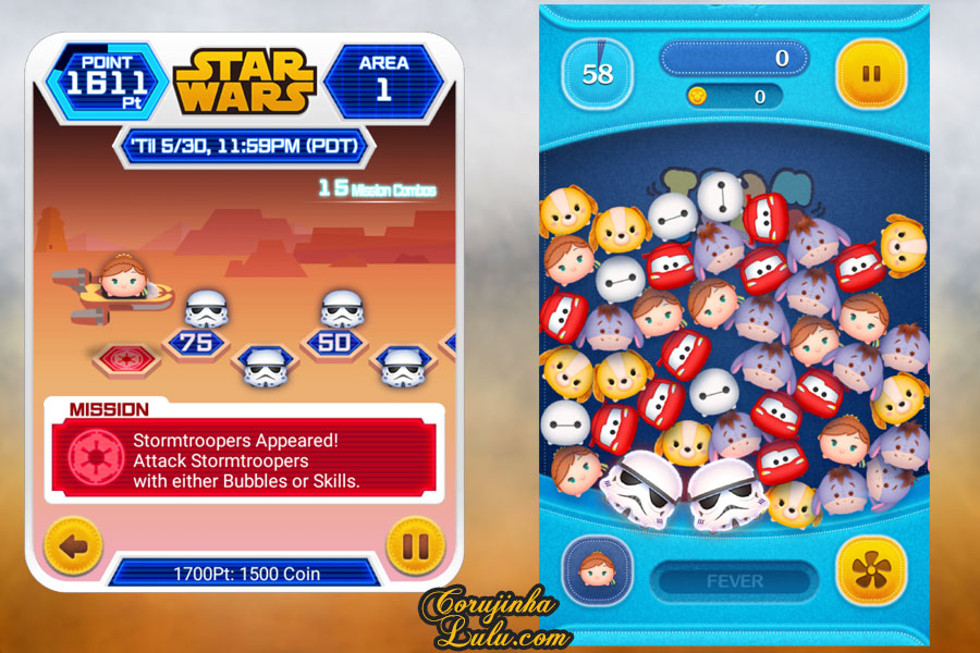 dicas gameplay jogo game móvel mobile disney tsum tsum event evento star wars part parte 1 luke skywalker yoda r2d2 princesa leia c3po darth vader rey kylo ren  bb8 guerra nas estrelas corujinhalulu corujinha lulu  stormtrooper
