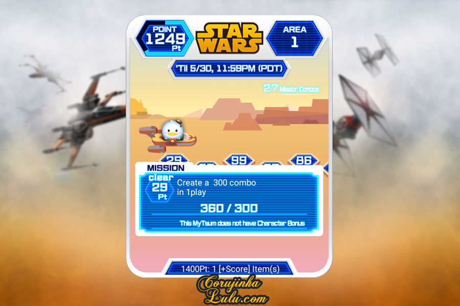 dicas gameplay jogo game móvel mobile disney tsum tsum event evento star wars part parte 1 luke skywalker yoda r2d2 princesa leia c3po darth vader rey kylo ren  bb8 guerra nas estrelas corujinhalulu corujinha lulu