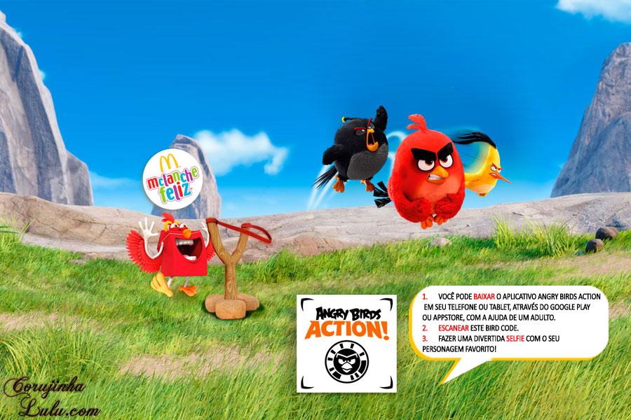 diy maquete diorama angry birds filme movie jogo game coleção mc donalds lanche feliz cajita happy meal corujices da lu corujinhalulu faça você mesmo mesma 2016 birdcode bird code
