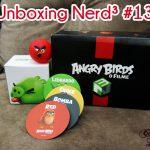 Unboxing Nerd Ao Cubo (Nerd³ #13: Angry Birds O Filme) | Maio 2016