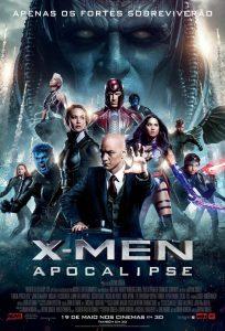 poster br brazil brasil xmen x men x-men apocalipse apocalypse fox film marvel studios