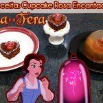 Receita: Cupcake da Rosa Encantada de A Bela e a Fera | De Bico Cheio