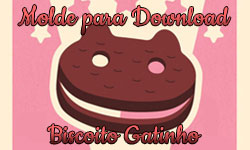 Download: Molde do Biscoito Gatinho Steven Universe Cartoon Network Sanduíche de sorvete| ©CorujinhaLulu.com