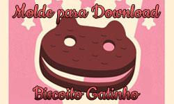 Download: Molde do Biscoito Gatinho Steven Universe Cartoon Network Sanduíche de sorvete| ©CorujinhaLulu.com