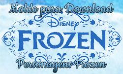 Download gratuito Personagens de Disney Frozen anna elsa olaf rainha princesa boneco de neve| ©CorujinhaLulu.com