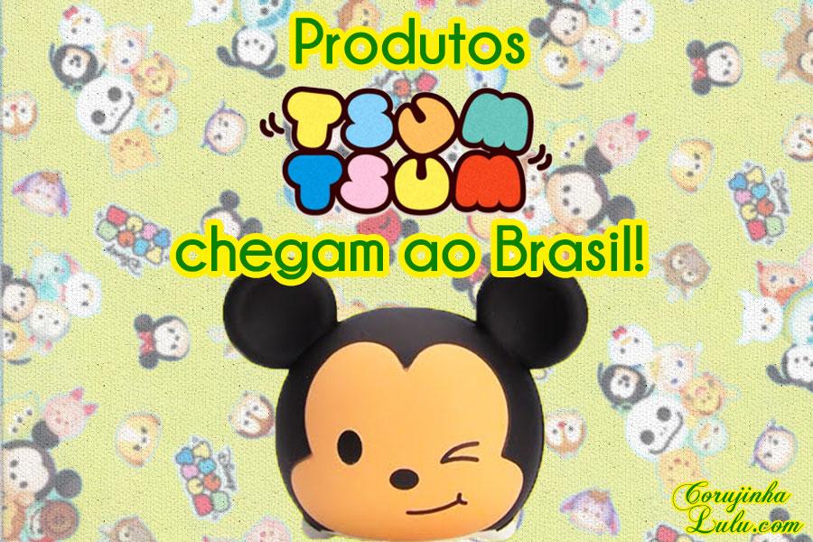 Produtos Disney Tsum Tsum chegam ao Brasil | Novidades Expo Disney 2016