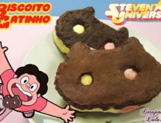 Receita Fácil: Biscoito Gatinho de Steven Universe | De Bico Cheio