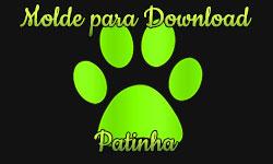 molde download grátis patinha cat gato noir corujinhalulu