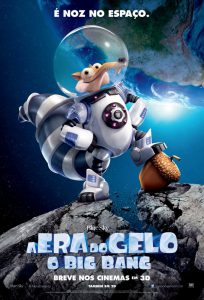 poster nacional a era do gelo 5 o big bang br brasil brazil blue sky fox film