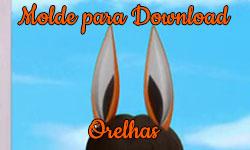 Download grátis gratuito como fazer faça você mesmo diy Molde orelhas Volpina Miraculous As Aventuras de Ladybug | ©CorujinhaLulu.com