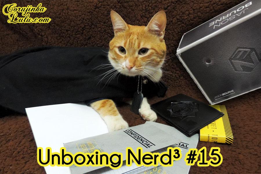 box surpresa Unboxing Nerd Ao Cubo Nerd³ nerd3 3 15 Top Secret Sherlock Holmes Jason Bourne corujinha lulu  corujinhalulu ©CorujinhaLulu.com