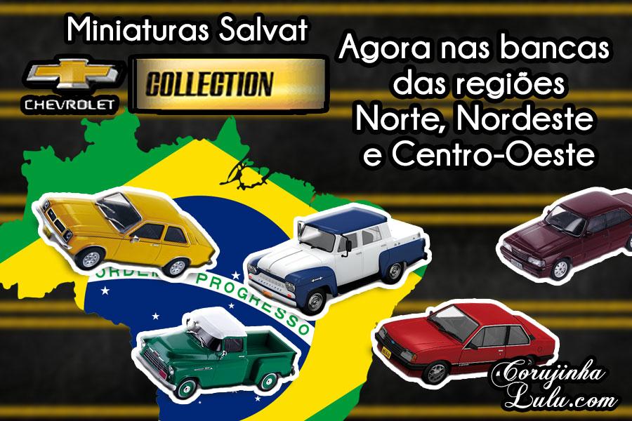 coleção carros miniaturas carrinhos editora salvat chevrolet collection nas bancas norte nordeste centro-oeste corujinhalulu corujinha lulu ©CorujinhaLulu.com