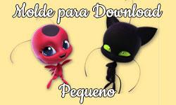 Download grátis gratuito Molde Pequeno da Tikki e do Plagg kwamis Miraculous As Aventuras de Ladybug corujices da lu corujinhalulu corujinha lulu cat chat gato noir ©CorujinhaLulu.com