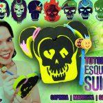 Diy Esquadrão Suicida: Como fazer Capinha + Marreta Touch + Gargantilha da Arlequina | Corujices da Lu