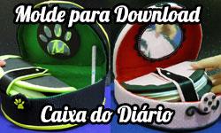 Download: Molde Diário com Porta Celular Secreto - Marinette e Cat Noir Miraculous As Aventuras de Ladybug corujinhalulu corujinha lulu corujices da lu ©CorujinhaLulu.com