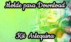 Download tutorial esquadrão suicida arlequina passo a passo faça você mesmo mesma  Molde Kit corujinhalulu corujinha lulu ©CorujinhaLulu.com
